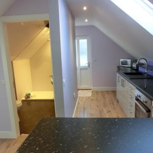 Kitchen & En-suite room